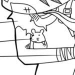 ネズミのミッキー